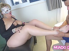 Mature fucking in the house