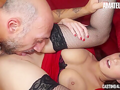 Marie Clarence And Omar Galanti – Big Booty Housewife Loves Anal On First Audition